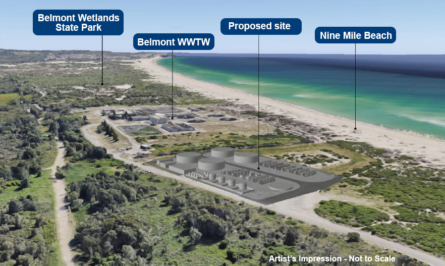 EIS Amendment Report released proposing increase for Belmont drought response desalination plant