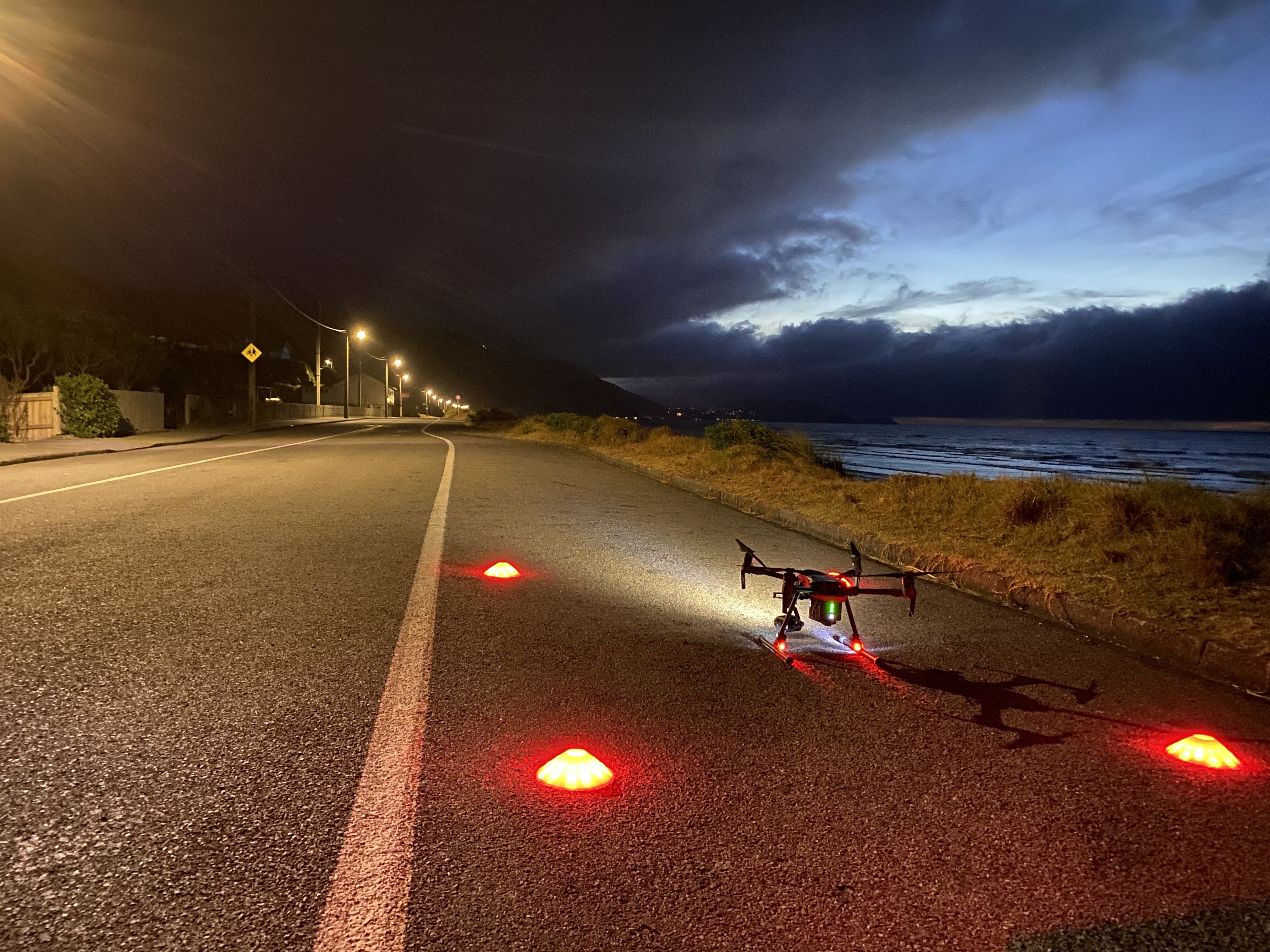 Drone trial to help detect hidden leaks