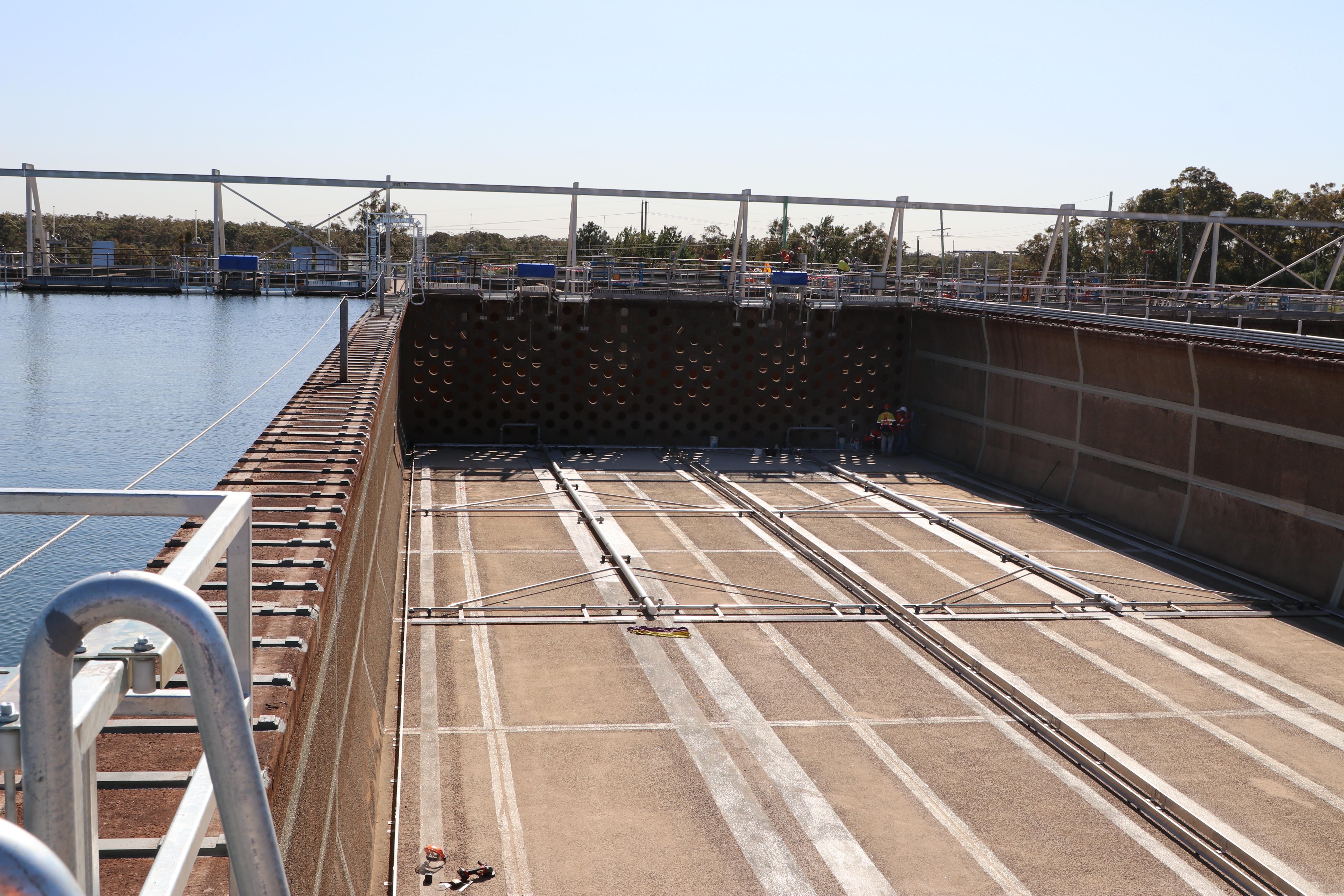 Treatment plant upgrade delivers even better water reliability for the Lower Hunter