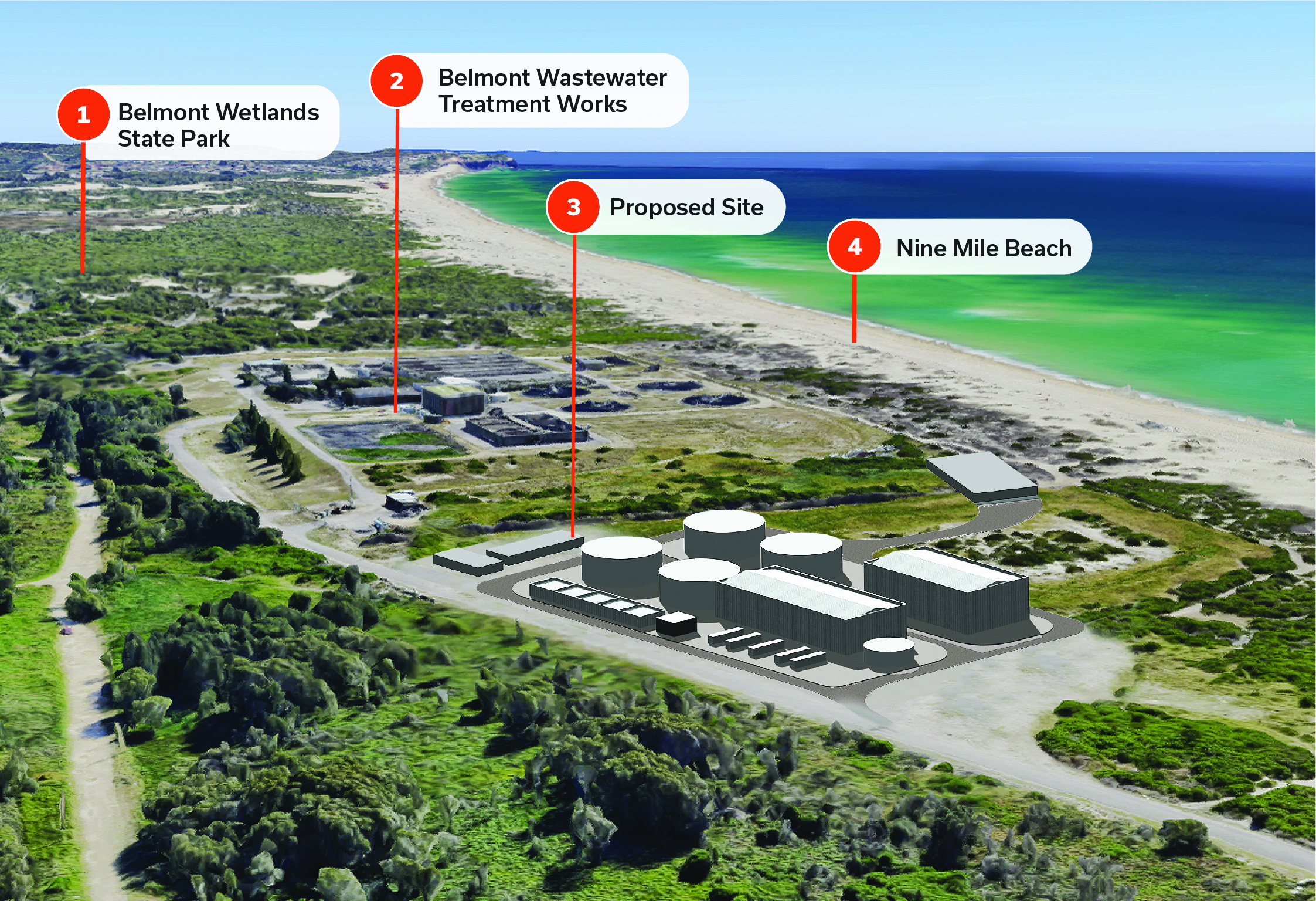 Hunter Water welcomes planning approval for Belmont desalination plant