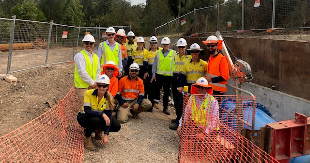 Australian-first innovation delivers unique repair solution for Hunter Water